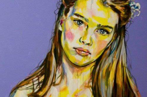 quadro Pretty Girl di Davide Cocozza