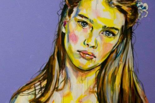 quadro Pretty Girl di Davide Cocozza