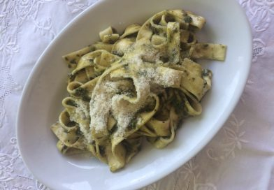 Patellucce al pesto