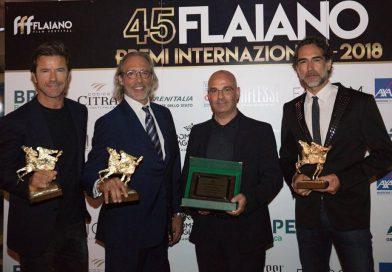 Parata di stelle per la serata conclusiva dei Premi Flaiano