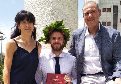 Mattia Russel Pantalone, un cervello abruzzese all'estero
