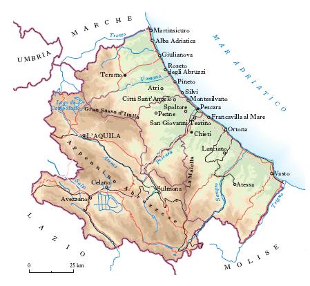 Cartina Geografica Roccaraso.L Avverbio Dove Nella Conoscenza Geografica Il Grande Sorpasso