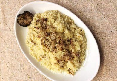 Le gustose ricette tradizionali di Gianna Nora Sersipe: risotto al tartufo