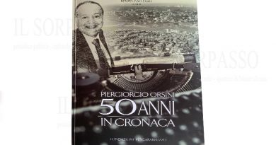 Piergiorgio Orsini 50 anni in cronaca