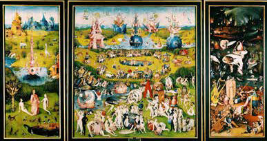 """Hieronymus Bosch e """"Il Giardino delle delizie terrene"""""""